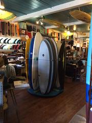 Hobie Surf board display