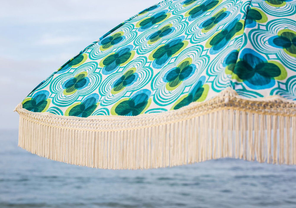 Mermaid Beach Umbrella available at BeachBrella.com