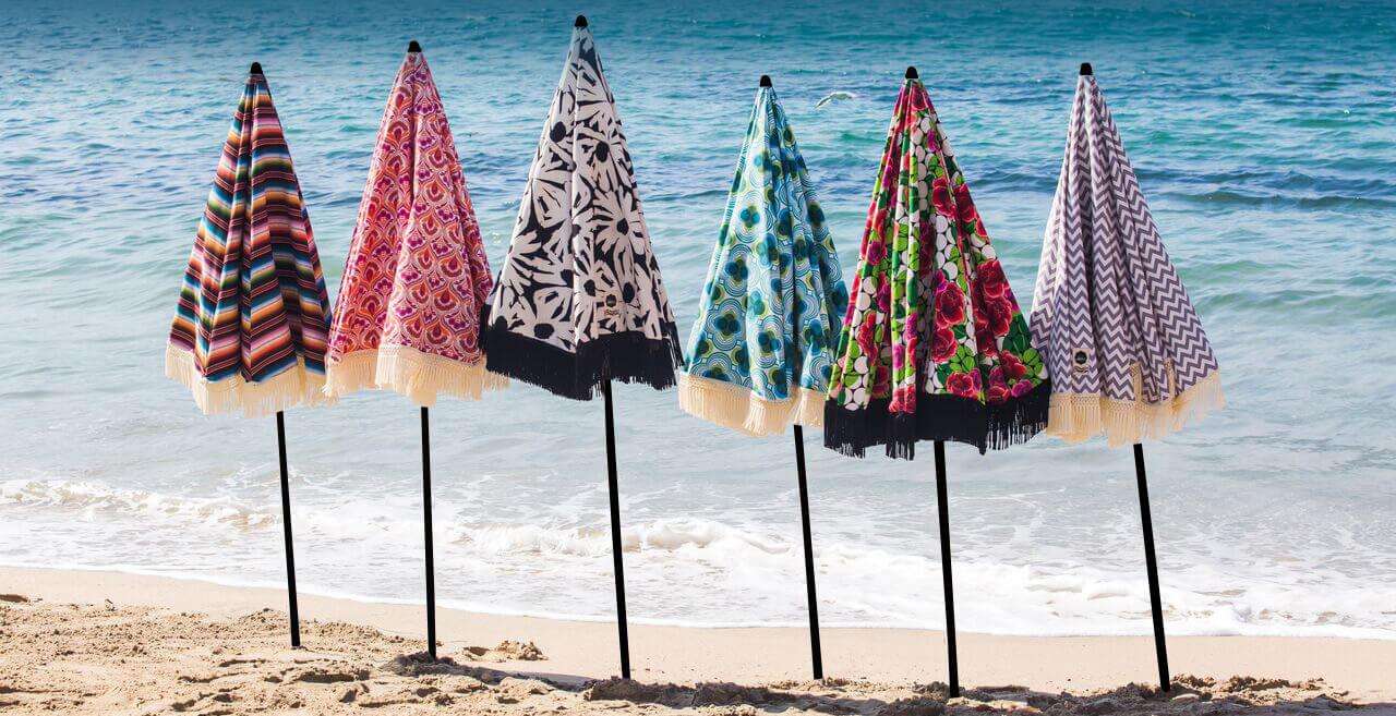 Beach Umbrellas available at BeachBrella.com