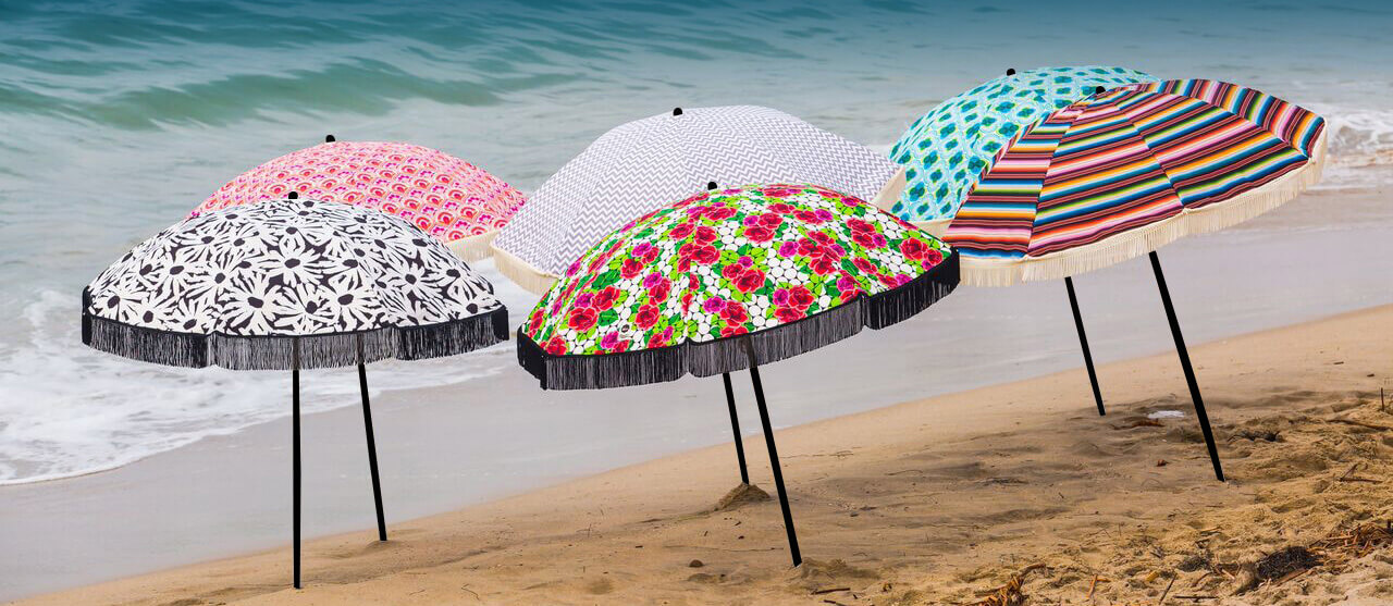 Beach Umbrellas available at BeachBrella.com