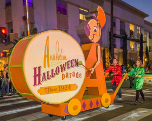 Anaheim Halloween parade event