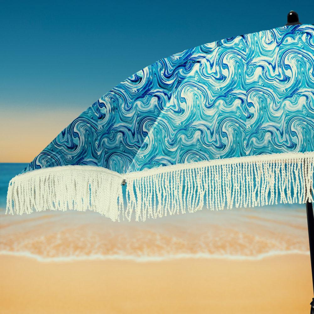 Fringe Beach umbrella