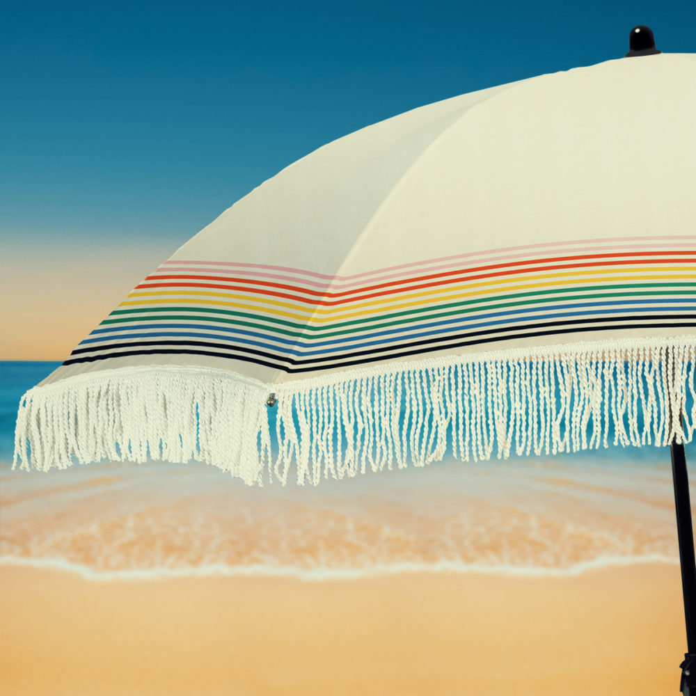beach umbrella fringe